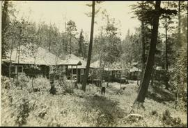 Fishing Bungalows at Douglas Lodge, Stuart Lake BC