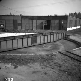Turntable at C.P.R. yards in Coquitlam