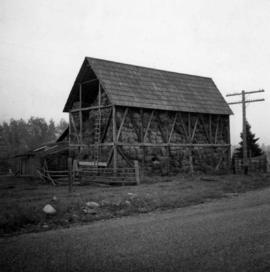 Barn at Darfield, B.C.