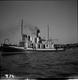 "Steam tug ""Master"" in English Bay"