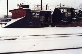 CPR snow plow and spreader