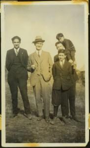 Hugh Taylor Jr. with Group of Men