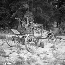Grader at Cowichan Valley Forest Museum