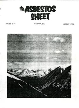 The Asbestos Sheet Jan. 1971