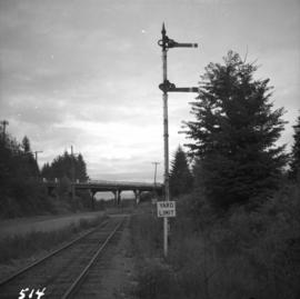 Yard signals of the M.B. & P.R. logging railway