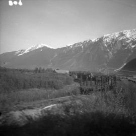 Pacific Great Eastern siding at Pemberton