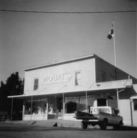 Movat's store on Salt Spring Island