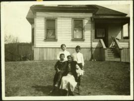 Hermina Taylor and Three Oldest Sons
