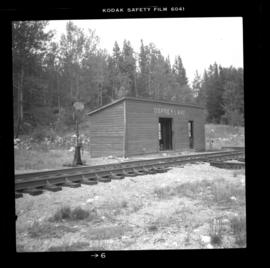 CPR Kettle Valley Railway line at Osprey Lake