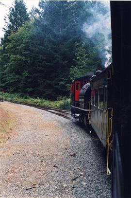Alberni Pacific Railway tourist train