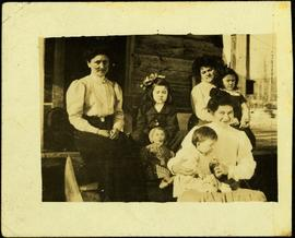 Taylor Family Sitting at Kispiox, B.C.