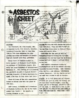 The Asbestos Sheet 23 June 1958