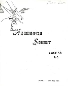 The Asbestos Sheet Apr. 1973