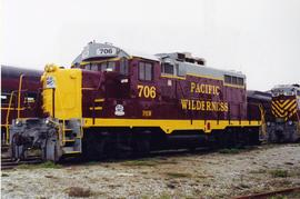 Pacific Wilderness Railway coach