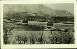 Railway Bridge at Hazelton, B.C.