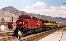 CPR Kamloops westbound freight