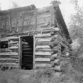Abandoned cabin 2 miles out of Lillooet