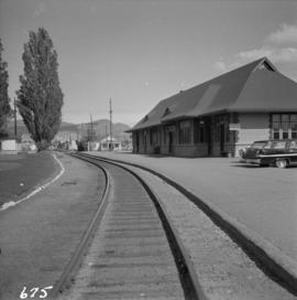 Disused C.N.R. passenger depot at Kelowna