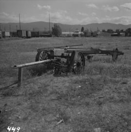 Steam or motor hauled road lumber wagon