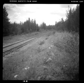 CPR trackage near McCulloch depot