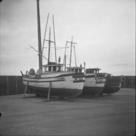 Unused fishboats, Prince Rupert