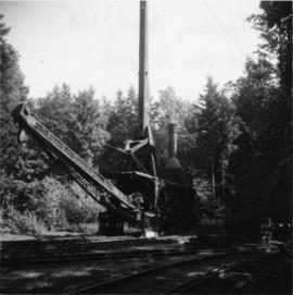 Lidgerwood skidder in Tacoma, Washington