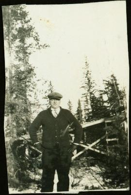 Bob Baxter Standing in Forest