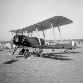 AVRO 504K fighter at the Centennial International Airshow