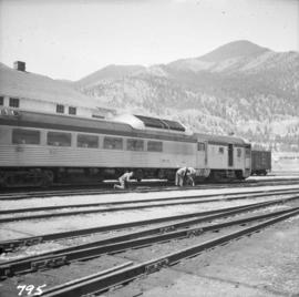 Pacific Great Eastern depot in Lillooet
