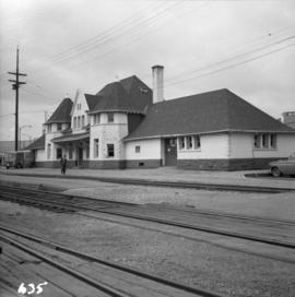 C.P.R. depot at New Westminster