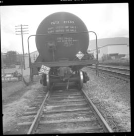CPR tank car in Salmon Arm