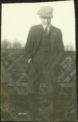 Hugh Taylor Jr. Wearing a Suit