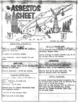 The Asbestos Sheet Oct. 1966