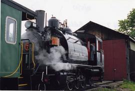 Alberni Pacific Railway locomotive