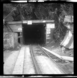 Britannia Copper Mine line portal