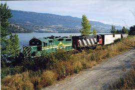 Okanagan Valley Railway freight