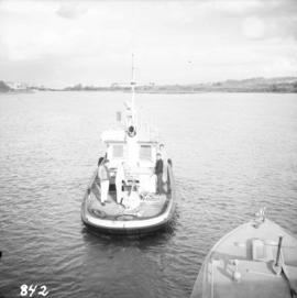 Tugboat  in Annacis Channel