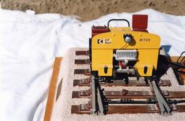 Model of 2 man track car