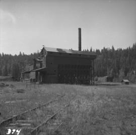 Derelict copper smelter at Princeton, BC
