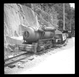 Compressed air locomotive, Britannia Beach
