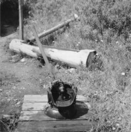 Water pump in Barkerville