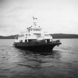 "BC Department of Highways ferry,""Nimpkish"""