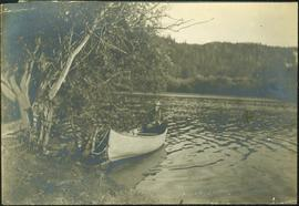 Billy Barnett Sitting in Canoe