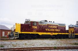 Pacific Wilderness Railway caboose