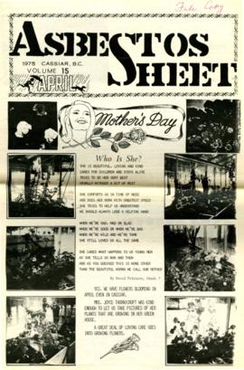 The Asbestos Sheet Apr. 1975