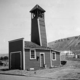 Fire hall in Ashcroft