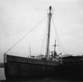 "Former light-ship, ""Thomas E. Bayard"""