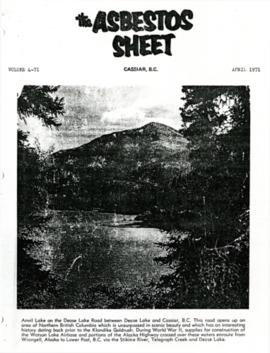 The Asbestos Sheet Apr. 1971