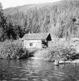 Trappers cabin near Trout Lake City