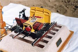 Model of a Fairmont track car